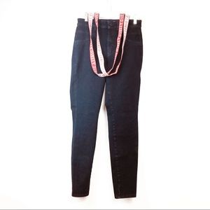 Guess Jeans Blue Skinny High Rise Suspenders  27
